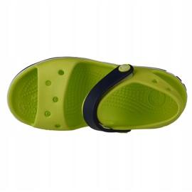 Sandale Crocs Crocband pentru copii 12856-3TX verde 2