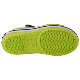 Sandale Crocs Crocband pentru copii 12856-3TX verde 3