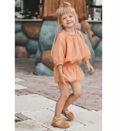 FRROCK Sandale galbene Goofy Velcro pentru copii 6
