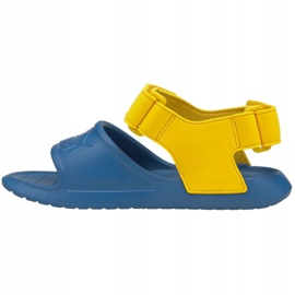 Sandale Puma Divecat v2 Injex Ps Star Jr 369546 07 albastru galben 1