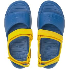 Sandale Puma Divecat v2 Injex Ps Star Jr 369546 07 albastru galben 2