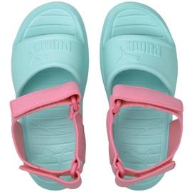 Sandale Puma Divecat v2 Injex Ps Island Jr 369546 09 albastru roz 2