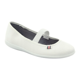 Adidași albi pentru femei Befado 493Q003 albi roșu multicolor 1