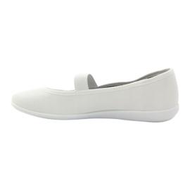 Adidași albi pentru femei Befado 493Q003 albi roșu multicolor 2