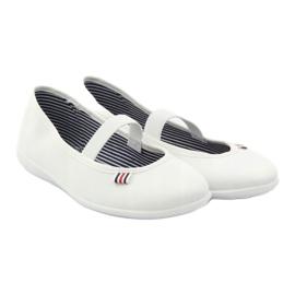 Adidași albi pentru femei Befado 493Q003 albi roșu multicolor 4